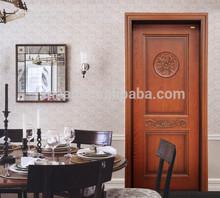 prefinished interior solid carving wood doors design