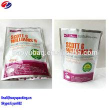 High barrier aluminum foil laminated chemical resistant bag/pesticide bag/fertilizer bag