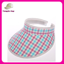 Hot Cheap ladies Summer Wholesale Stylish Wide Brim Visors for Added Sun Protection
