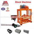 Qtj4-40 pequeño bloque de concreto que hace la máquina industrias de pequeña escala