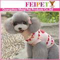 en forma de corazón pequeño perro del animal doméstico ropa de ganchillo suéter