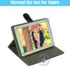 New Design Stylish Environmental PU Leather Cover Folio Case For ipad Air/ipad 5 U1710-27 With Smart Sleep Function