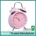 4 polegadas lembranças de casamento presentes metal engraçado relógios de alarme