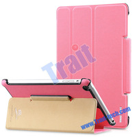 Hot Selling TakeFans Eazy New Series Smart Wake Sleep Ultrathin Flip Leather Tri-fold Stand Case for iPad Air