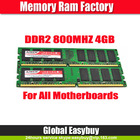 cheap computer components full compatible 4gb DDR2 ram memory wholesales