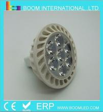 high power 12v 7w led spotlight mr16 base