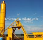 Discount sale! 30m3/h mobile concrete batch plant on sale by Haomei