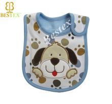 Infant Animal Waterproof Knitting Custom print bibs for baby