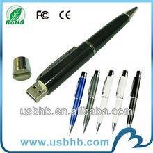 Mini pen 1gb usb flash drive wholesale with laser print logo
