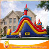 2014 hot sales inflatable pool slide with climbing wall for kids activity &taking exercise