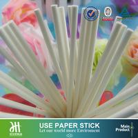 Food grade paper stick white rock candy sticks