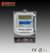 REM18 smart card electric meter digital prepaid electric meter prepayment electricity meter