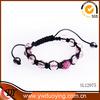 2014 fashion jewelry changeable wholesale round bead bracelets