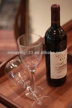 750ml Heavy Bordeaux Antique Green Liquor Glass Bottle