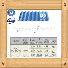 4x8 galvanized corrugated steel sheet