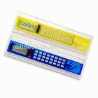 Solar energy product, ruler with calculator/ HLD-805