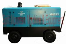 Pressao de trabalho 17 bar Compressor portateis Fluxo de ar 18 m3/min LGCY-18/17