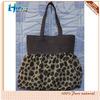 Hot Sale Leopard Grain Skirt Pendulum Type Cotton Canvas Beach Bag