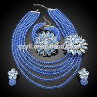 crystal jewellery/ beads jewelry set/ ali express jewelry set