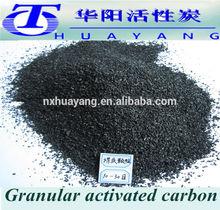 Iodine 850mg/g 8x30 Mesh Bituminous Anthracite granular activated carbon