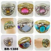 New alloy diamond bracelet Can be mixed alloy bracelet