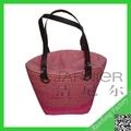 Preço de grosso saco de palha, lady bolsa de palha, ráfia palha saco
