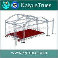 outdoor stage decoration box truss design