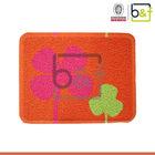 Westen different size and color clover design PVC non skid bath mat