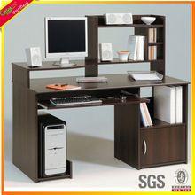 Chipboard low price computer desk oak home office