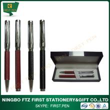 The Best Sellers Fashion Metal Ball Pen Roller Pen Set