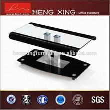 Fashional metal leg modern timber coffee table designs