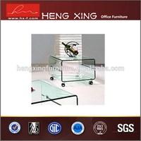 Fashional metal leg onyx marble coffee table