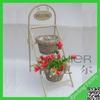 2014 Hot Sale small hanging flower basket,hanging flower baskets,wicker baskets for flowers
