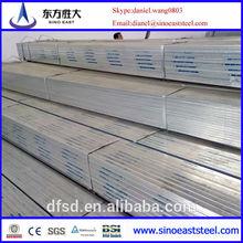 Good sale! rectangular steel tube size! promotion!