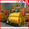 JS500 concrete mixer with CE,cement mixer with poly drum,concrete mixer truck hire