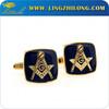 Fashion cufflinks masonic symbols