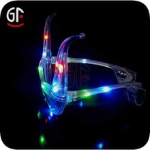 2014 Halloween Centerpieces China Wholesale Led Light Up Glasses