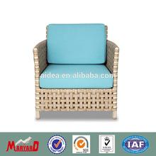outdoor garden chair+aluminium wicker chair