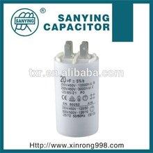 ac motor capacitor CBB60 4uf 4.5uf 5uf 5.5uf 6uf