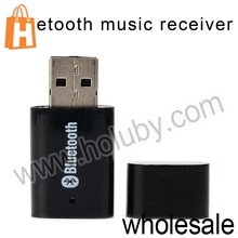 PT-810 Wireless 3.5mm Audio Cable Bluetooth Music Receiver Adapter USB Bluetooth V2.0 + EDR Audio Receiver