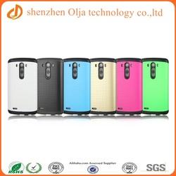 Sales promotion mobile phone case for LG G3, slim armor design for LG G3 case