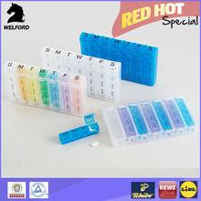 container of medicine medicine container 28 day pill box
