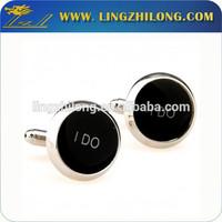Custom design aigner cufflink