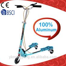Aluminum trike adult push scooters
