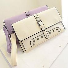 E796 Best selling stylish lady studded cheap purses and handbags