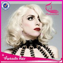 New Arrival soft durable brazilian dream white color #60 full lace wig