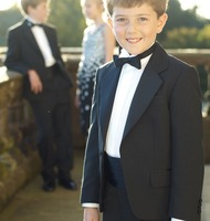 2014 Custom made wedding dress for boys suits for weddings&children suits tuxedo