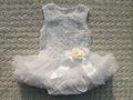 2014 novo design roseta balé vestido para 0-4 anos