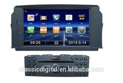 Classic Digital mercedes benz c class car radio player c200 radio car dvd gps with bluetooth dvd gps canbus