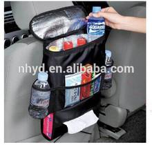 2015New car back seat hanging organizer bag with cooler bag hot fashion type